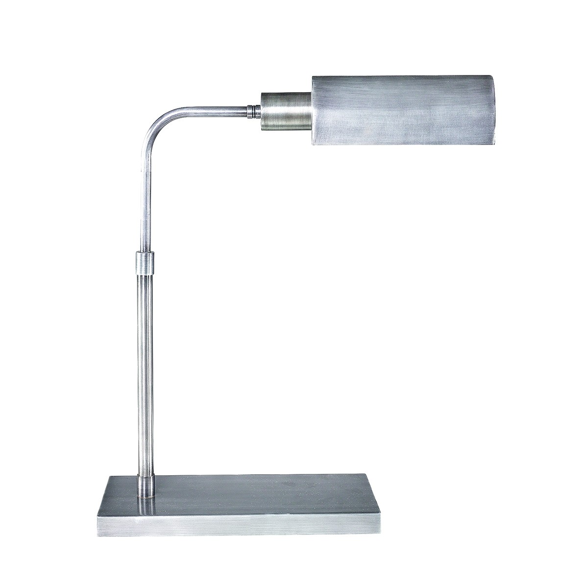 BERLIN Desk lamp Shiny steel