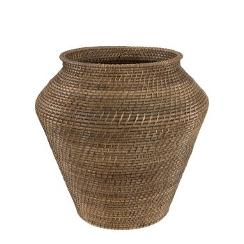 AMAZON snake basket L natural antique