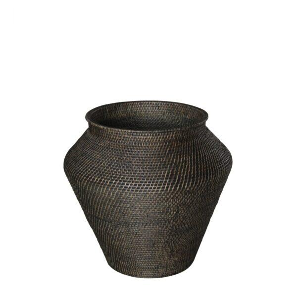 AMAZON snake basket S deep brown