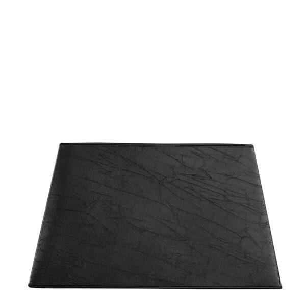 SHADE RECTANGULAR L black leather