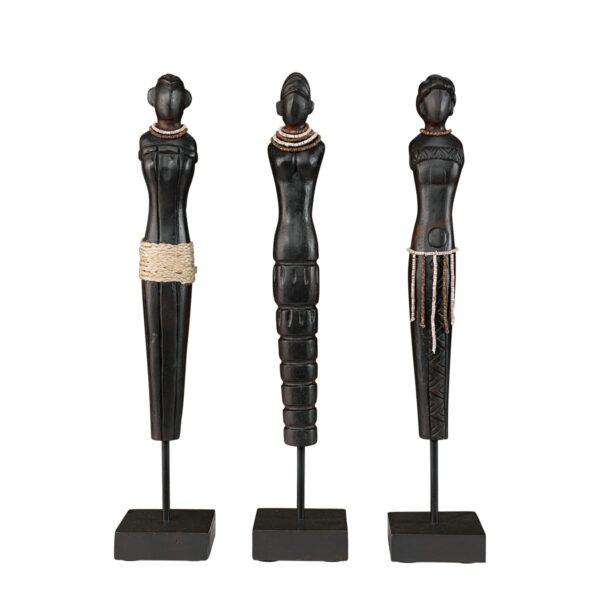 AFRICAN LADIES 3-s distr.black