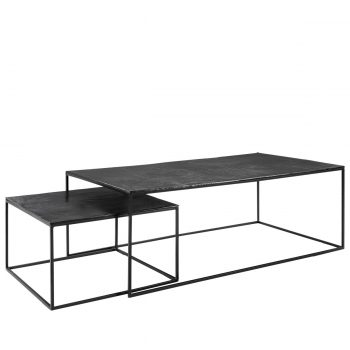 MILLE 2-s coffee table black