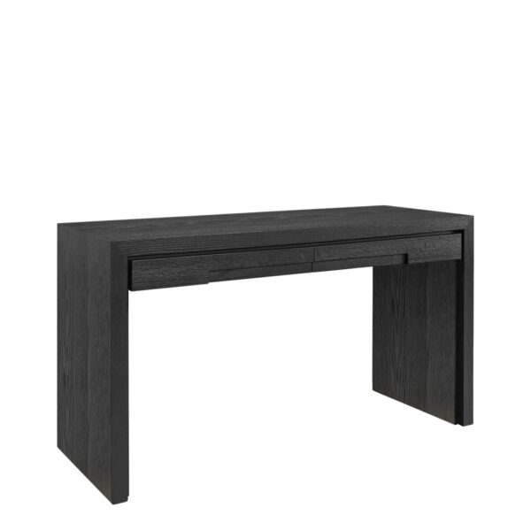 HUNTER writing desk black oak