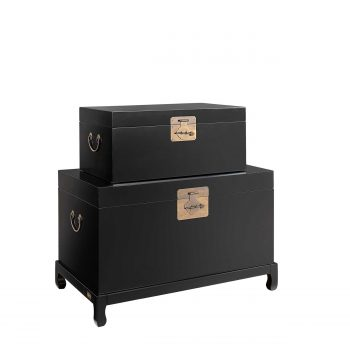 MACAO chest 2-set black