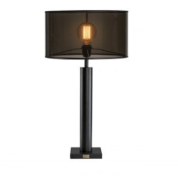 AW MILAN Tablelamp base Black metal