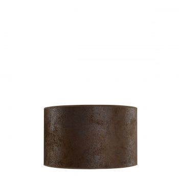SHADE CYLINDER SMALL Suede brown