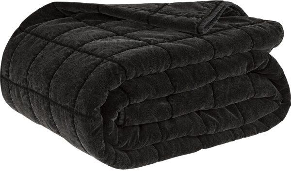 POSH bedspread black 260x260