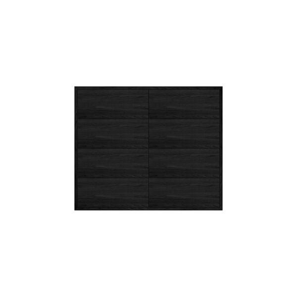 EDGE MODUL BLACK OAK BYRÅ 2-SEKTION 86Bx38Dx72H
