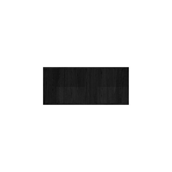 EDGE MODUL BLACK OAK BOKHYLLA LÅG 2-SEKTION 86Bx38Dx38H